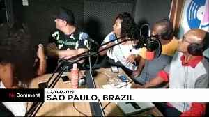 Brazilian radio show robbed live on the internet [Video]