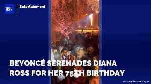 Diana Ross Got Beyonce To Sing Her Happy Birthday [Video]