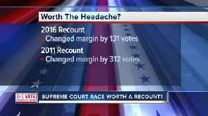 Recount possible in Wisconsin Supreme Court race [Video]