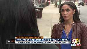 Boy claiming to be Timmothy Pitzen was lost, bruised, wandering Newport [Video]