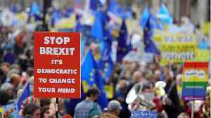 MPs Vote To Force Another Article 50 Extension [Video]