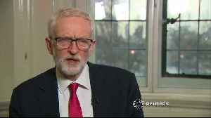Jeremy Corbyn shocked at his image being used for 'target practice' [Video]