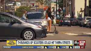 City Council to vote on bringing electric scooters to downtown Tampa [Video]