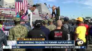 WWE offers tryouts for former AAF players [Video]