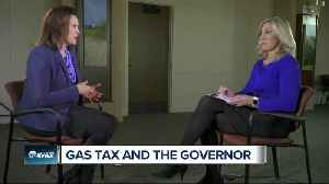 Gov. Gretchen Whitmer says she's not worried gas tax increase will hurt her [Video]