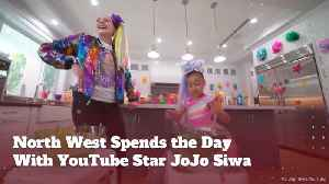 North West And Jo Jo Siwa Spend The Day Together [Video]