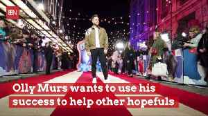 Olly Murs Wants To Mentor And Share His Success [Video]