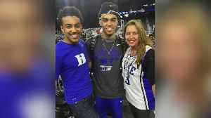 Mike Max Shoots Hoops With Tyus Jones [Video]