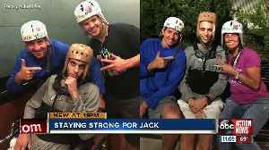 Lakewood Ranch athletes support former teammate injured in rollover crash [Video]