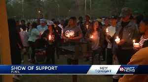 Prayer vigil held for quadruple shooting victims [Video]