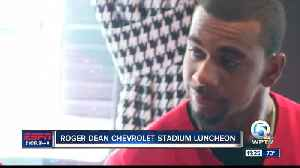 Roger Dean Chevrolet Stadium Luncheon 4/3 [Video]