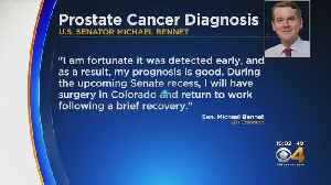 Sen. Michael Bennet, Diagnosed With Prostate Cancer [Video]