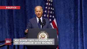 Joe Biden Promises To Keep His Distance With Less Love [Video]
