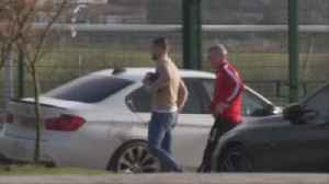 Bolton players arrive at training [Video]