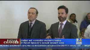 Kevin Spacey's Lawyers Return To Court In Nantucket Groping Case [Video]