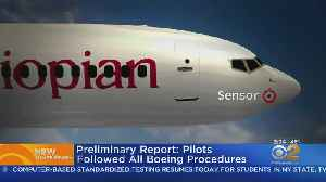 Preliminary Report On Boeing Crash [Video]