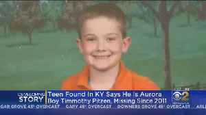Boy In Kentucky Says He's Missing Teen Timmothy Pitzen; Police Await DNA Tests [Video]