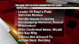 MSU places Assistant Police Chief on administrative leave [Video]