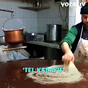 Ottoman-Style Kadayıf Is A Traditional Taste and It Is So Satisfying To Watch [Video]