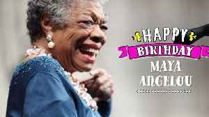 Get some #inspiration from the legendary Maya Angelou [Video]