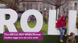 The 2019 Official White House Easter Egg Is Here [Video]