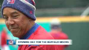 Live at the ballpark. It's opening day for the Buffalo Bisons [Video]