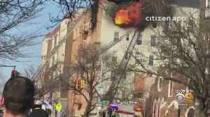 Sunset Park Apartment Fire Injures 23, Puts Families Out Of Homes [Video]