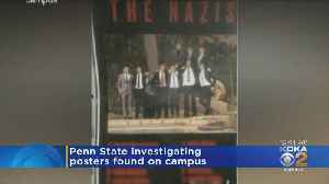 Penn State Investigating Nazi Posters Found On Campus [Video]