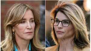Lori Loughlin And Felicity Huffman Appear In Federal Court [Video]