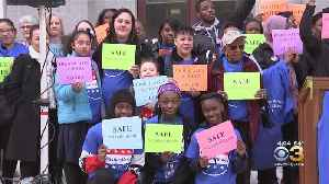 Students, Parents From Philadelphia's Mastery Charter Schools Rally At City Hall For Safer Neighborhoods [Video]