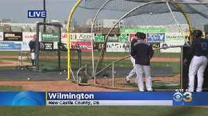 Opening Night for Wilmington Blue Rocks Thursday [Video]