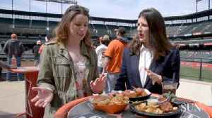 Taste testing the new food at Camden Yards on Opening Day [Video]