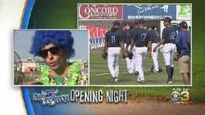 Opening Night For Wilmington Blue Rocks [Video]