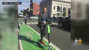 Scooters Introduced In Hoboken [Video]