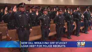 New Bills Would Pay Off Student Load Debt For Police Recruits [Video]