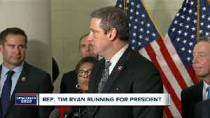 Northeast Ohio congressman Tim Ryan officially announces candidacy for president [Video]