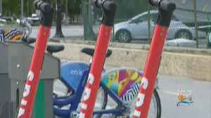 Hundreds Of Electric Scooters Hit The Streets, Sidewalks Of Downtown Miami [Video]