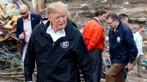 Senators Make Full Court Press To Get Trump To Sign Off On Disaster Relief Bill [Video]