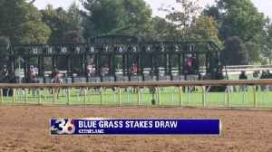 Blue Grass Stakes Draw [Video]