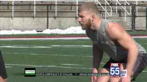 Trio of Former Saint Francis Stars Work Out at Ball State Pro Day [Video]