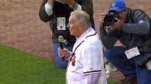 Hot Topics: Braves' Bobby Cox Suffers Stroke; Students Honor Custodian; Brad Paisley opens The Store [Video]