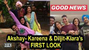 Akshay- Kareena & Diljit-Kiara's 'GOOD NEWS' LOOKS [Video]