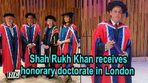 Shah Rukh Khan receives honorary doctorate in London [Video]