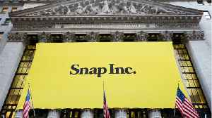 Snap Stock Spikes [Video]