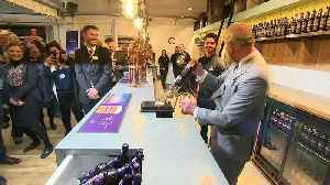 Prince Charles visits St Austell Brewery [Video]