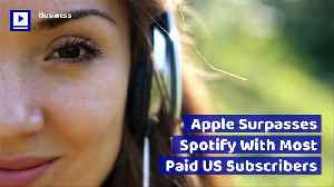 Apple Surpasses Spotify With Most Paid US Subscribers [Video]