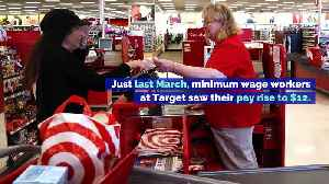 Target's Minimum Wage Jumping to $13 an Hour [Video]