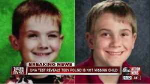 Person found in Kentucky is not missing Illinois boy, DNA test confirms [Video]