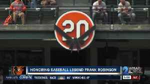 Baseball legend Frank Robinson honored before Oriole's home opener [Video]