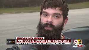 Man found in Newport is not missing Illinois child [Video]